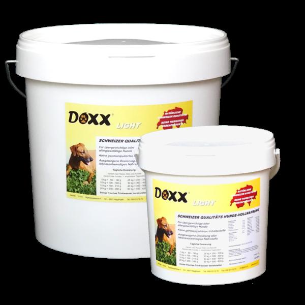 Doxx Light Alleinfuttermittel für Hunde mit Allergien oder einer Neigung dazu und für Hunde mit Übergewicht