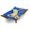 Hundehängebett, Hundeliege, Schlafen Hund